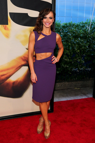 Karina Smirnoff Cutout Dress