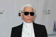 Karl Lagerfeld Aviator Sunglasses