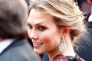 Karlie Kloss Diamond Chandelier Earrings