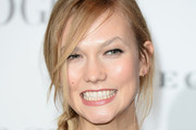 Karlie Kloss Long Braided Hairstyle