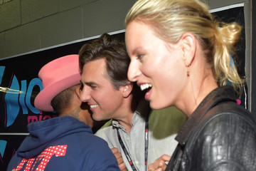 Karolina Kurkova Archie Drury Backstage at Y100's Jingle Ball