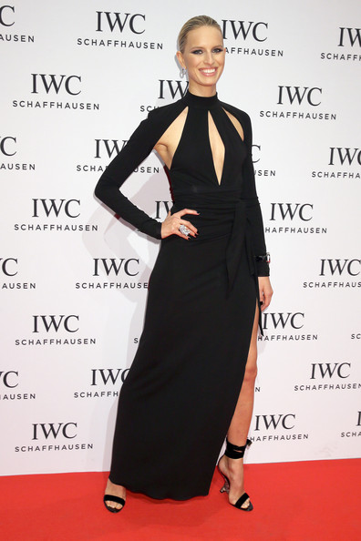 Karolina Kurkova Cutout Dress