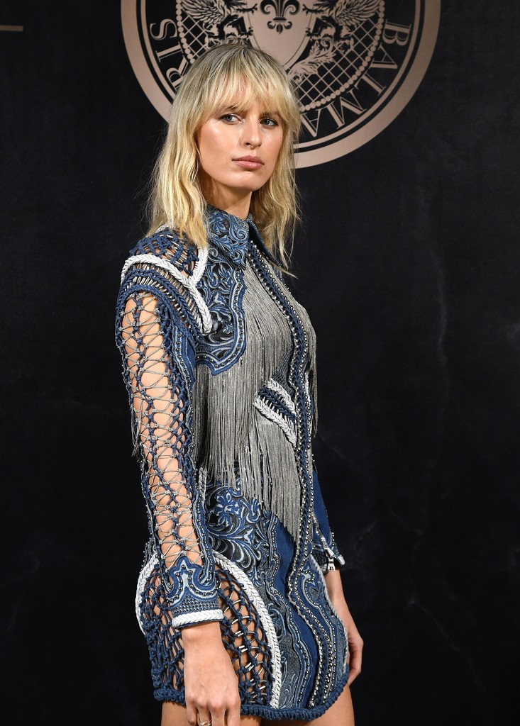 Karolina Kurkova Fringed Dress Karolina Kurkova Looks