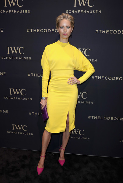 Karolina Kurkova Midi Dress