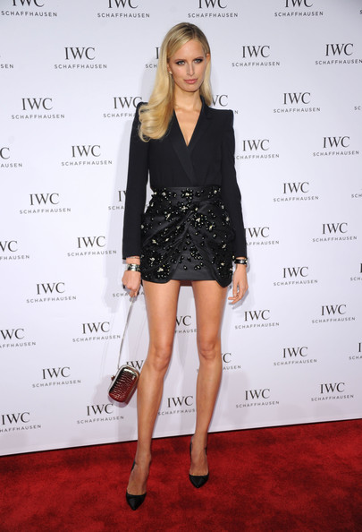 Karolina Kurkova Mini Skirt