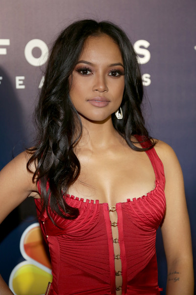 Karrueche Tran Long Curls