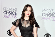 Kat Dennings Strappy Sandals