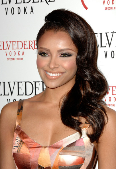 Kat Graham Long Curls
