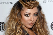 Kat Graham Long Partially Braided