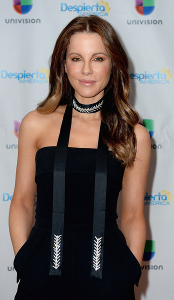 Kate Beckinsale Beaded Choker Necklace