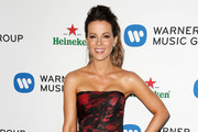 Kate Beckinsale Strapless Dress