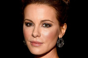 Kate Beckinsale Twisted Bun