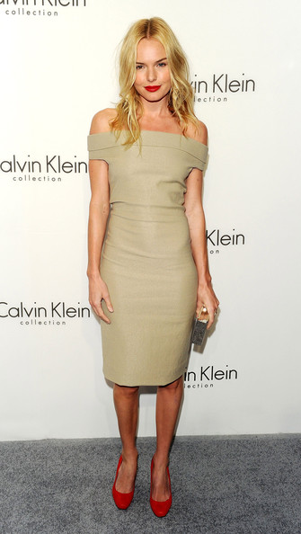 Kate Bosworth Off-the-Shoulder Dress