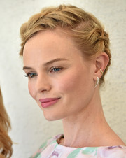 Kate Bosworth attended the launch of the Style Thief fashion app wearing a beautiful pair of Anita Ko dangling diamond earrings.