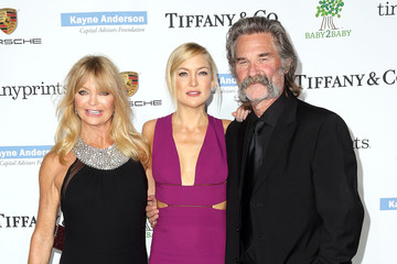Kate Hudson Kurt Russell The 2014 Baby2Baby Gala, Presented by Tiffany & Co - Arrivals