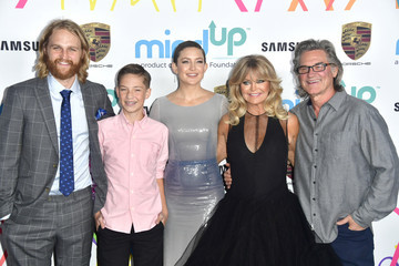 Kate Hudson Kurt Russell Goldie's Love In For Kids - Arrivals