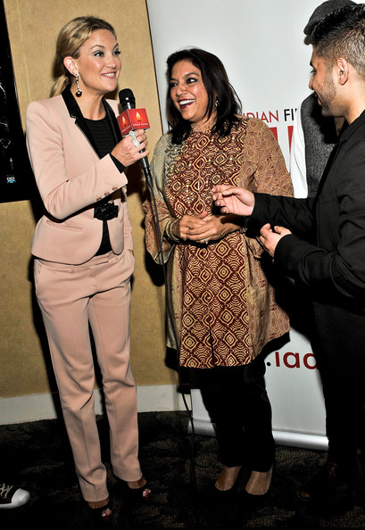 Kate Hudson Pantsuit [the reluctant fundamentalist,event,yellow,premiere,performance,suit,fashion accessory,kate hudson,mira nair,q a,big cinemas manhattan,new york city,new york indian film festival,screening]