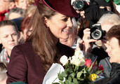 Kate Middleton Is Chic on Christmas in Sugar Plum Style