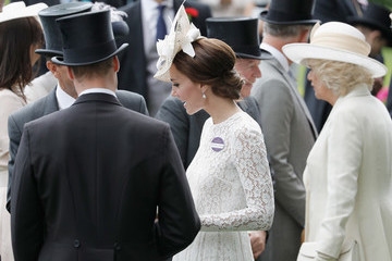 Kate Middleton Camilla Parker Bowles Royal Ascot 2016 - Day 2