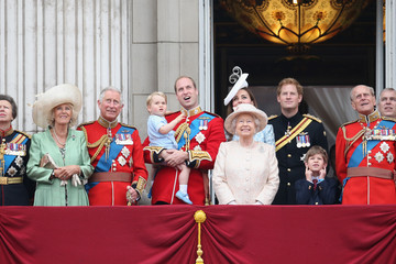 Kate Middleton Camilla Parker Bowles Trooping The Colour