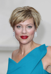 Kate Silverton looked oh-so-cool with her layered razor cut at the Tusk Conservation Awards.