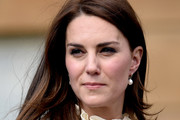 Kate Middleton Long Side Part