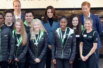 Kate Middleton Prince Harry The Duke of Cambridge and Prince Harry Attend the Coach Core Graduation