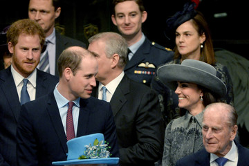 Kate Middleton Prince Philip The Royal Family Attends The Commonwealth Observance Day Service