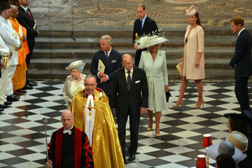 Kate Middleton Prince Philip Arrivals at the 60th Anniversary Coronation Service — Part 9