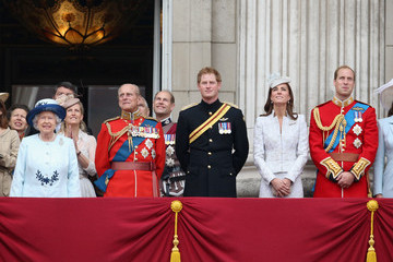 Kate Middleton Prince Philip Queen Elizabeth II's Birthday Parade: Trooping The Colour