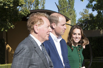 Kate Middleton Prince William Prince William and Kate Middleton, the Duke and Duchess of Cambridge, Visit Mission Hill Family Estate in British Columbia's Okanagan Valley