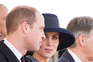 Kate Middleton Prince William Dedication and Unveiling of the Iraq and Afghanistan Memorial