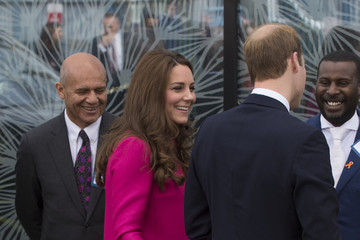 Kate Middleton Prince William The Duke and Duchess Of Cambridge Support Development Opportunities For Young People In South London