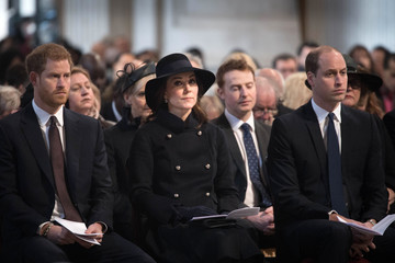 Kate Middleton Prince William Grenfell Tower National Memorial Service