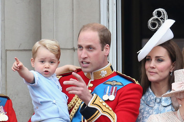 Kate Middleton Prince William Trooping The Colour