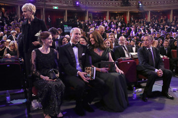 Kate Middleton Prince William The Duke and Duchess of Cambridge Attend the EE British Academy Film Awards