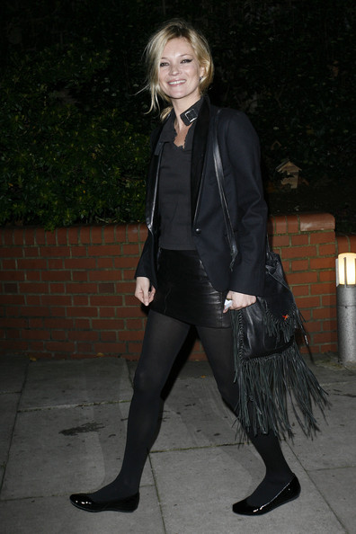Kate Moss Leather Messenger Bag
