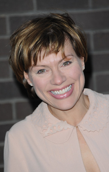 Kate Silverton Messy Cut [hair,face,hairstyle,blond,eyebrow,chin,forehead,lip,smile,pixie cut,arrivals,kate silverton,london,england,the london television centre,chickenshed,chickenshed - charity showcase,caberet showcase]