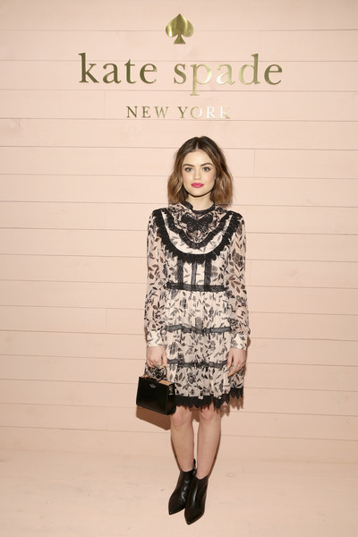 Lucy Hale At New York Fashion Week, 2018