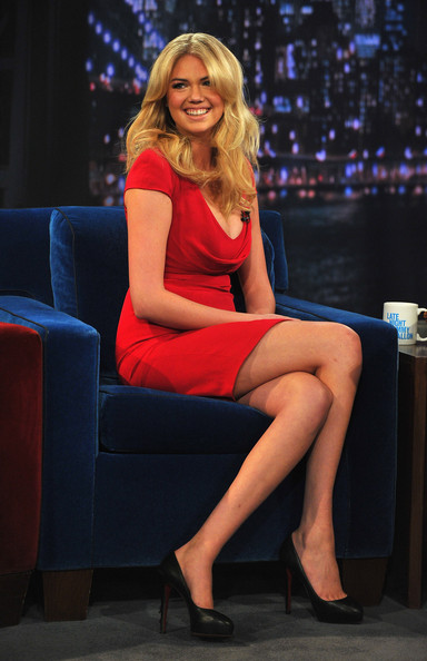 Kate Upton on 'Late Night With Jimmy Fallon'