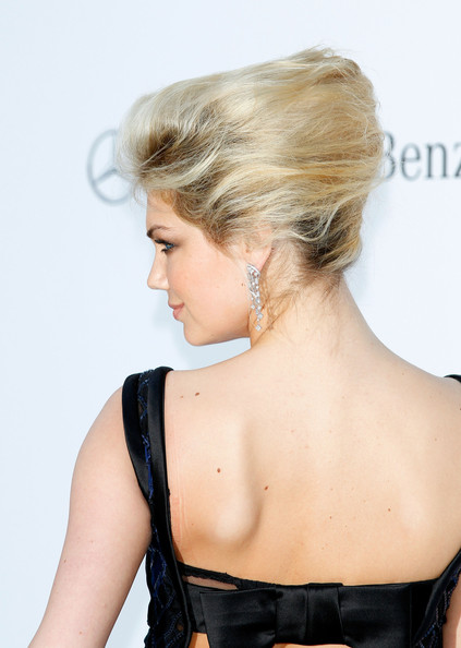 Kate Upton French Twist