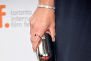 Kate Winslet Metallic Clutch