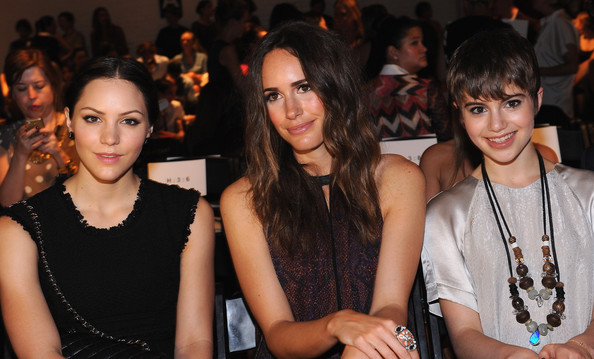 Rebecca Taylor - Front Row - Spring 2013 Mercedes-Benz Fashion Week