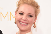 Katherine Heigl Gold Dangle Earrings
