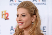 Katheryn Winnick Half Up Half Down