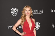 Katheryn Winnick Halter Dress