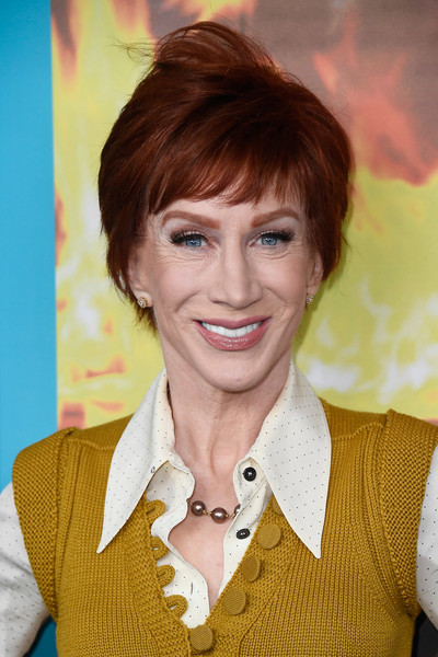 Kathy Griffin Short Cut With Bangs [the zen diaries of garry shandling,hair,face,hairstyle,eyebrow,forehead,blond,chin,bangs,brown hair,layered hair,arrivals,kathy griffin,screening,california,hollywood,avalon,hbo,screening]