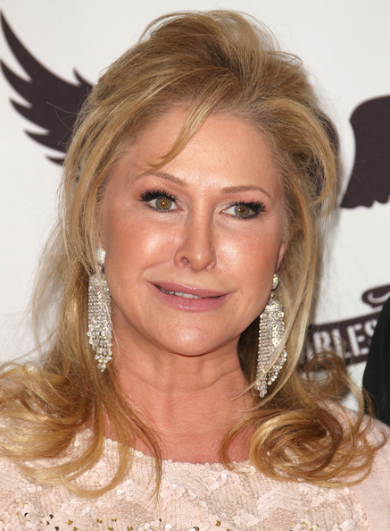Kathy Hilton Half Up Half Down
