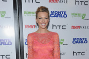 Katie Cassidy Is Summer Bright in Bec & Bridge at the 'Monte Carlo' Premiere