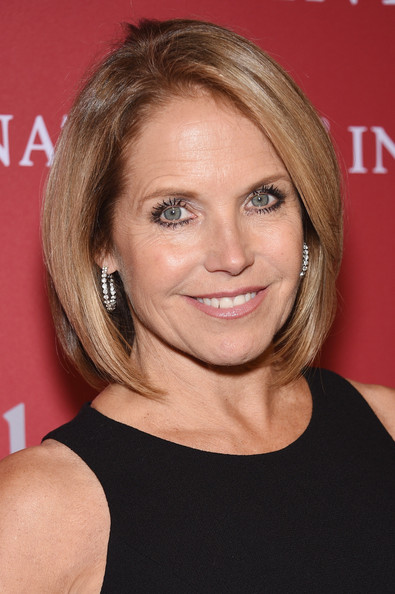 Katie Couric Bob [hair,face,hairstyle,blond,eyebrow,chin,layered hair,shoulder,brown hair,forehead,katie couric,new york city,cipriani wall street,fgi night of stars,event,fgi night of stars]
